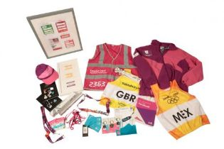 A COLLECTION OF OLYMPIC MEMORABILIA
