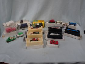 A SMALL COLLECTION OF LLEDO MODEL VEHICLES