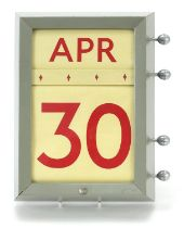 1970's roller wall calendar by Cresswell Bros Ltd dated 1971, 27.5cm x 20.5cm