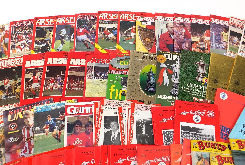 Vintage and later ephemera comprising Arsenal Football programmes and Bunty magazines : - Image 3 of 7