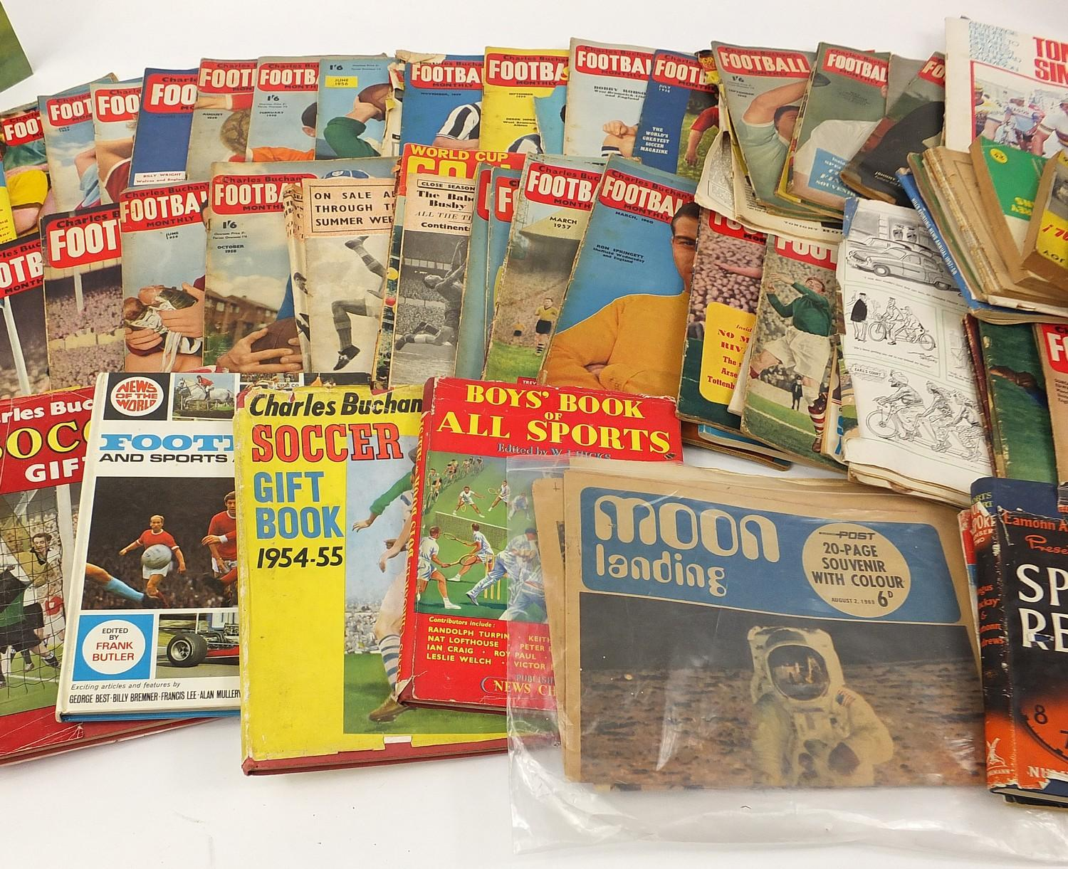Collection of vintage and later football related books and magazines including The Real Madrid and - Image 6 of 7