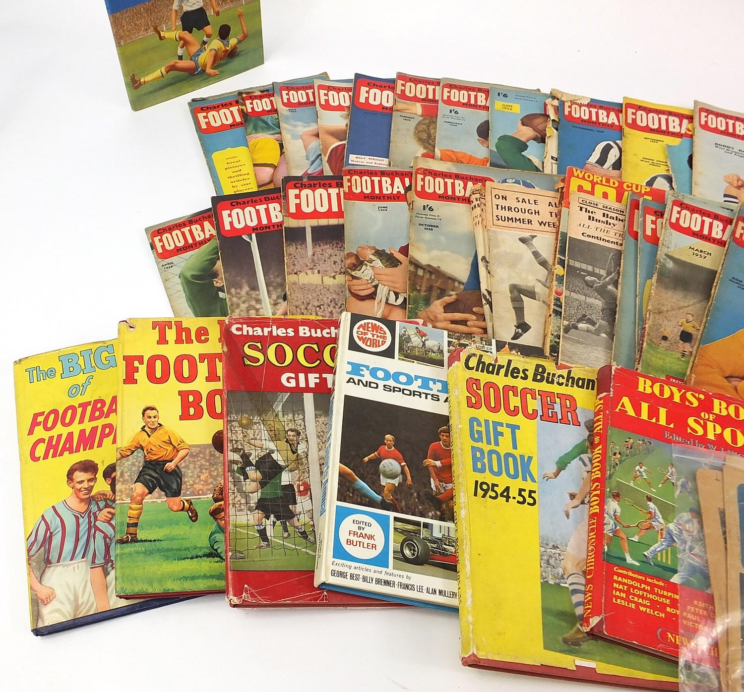 Collection of vintage and later football related books and magazines including The Real Madrid and - Image 7 of 7