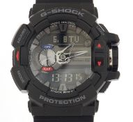 Casio, gentlemen's G-Shock wristwatch with box and paperwork, model GBA-400 :For Further Condition