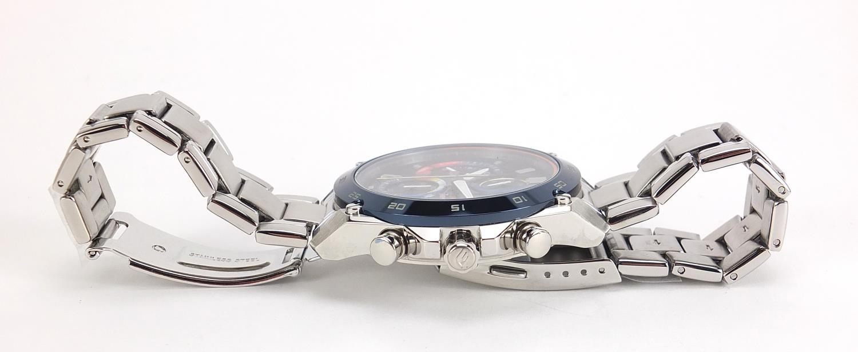 Casio Edifice, gentlemen's limited edition Scuderia Toro Rosso wristwatch with box, certificate - Image 3 of 7