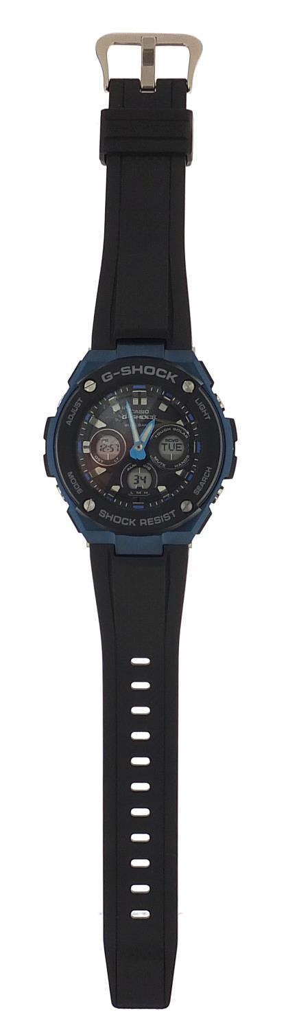 Casio, gentlemen's G-Shock wristwatch with box and paperwork, model GST-W300G :For Further Condition - Image 2 of 8