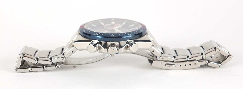 Casio Edifice, gentlemen's Scuderia Toro Rosso solar 2018 limited edition wristwatch with box, - Image 3 of 6