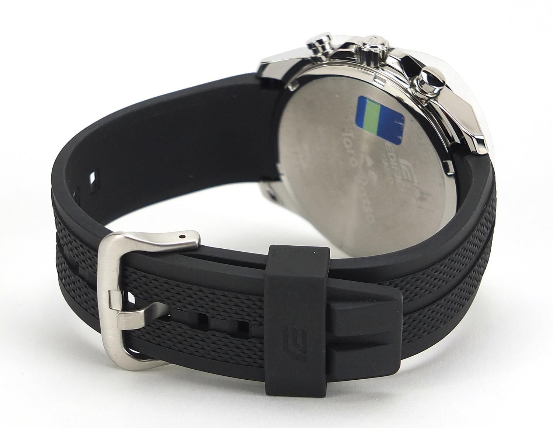Casio Edifice, gentlemen's limited edition Scuderia Toro Rosso wristwatch with box, certificate - Image 4 of 8