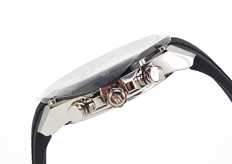 Casio Edifice, gentlemen's limited edition Scuderia Toro Rosso wristwatch with box, certificate - Image 2 of 8