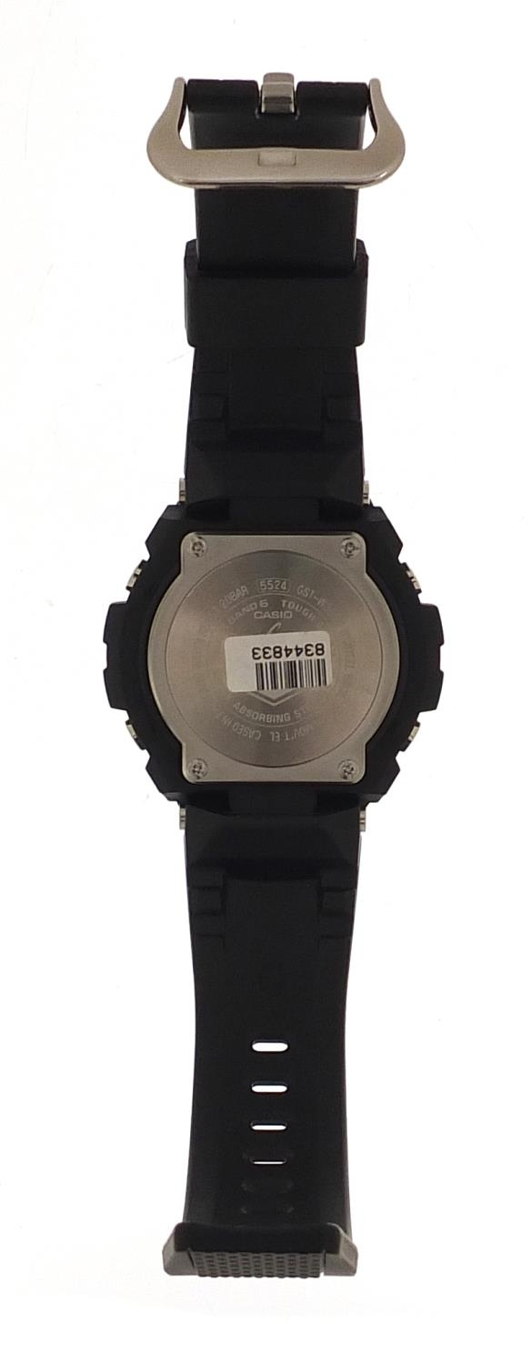 Casio, gentlemen's G-Shock wristwatch with box and paperwork, model GST-W300G :For Further Condition - Image 4 of 8