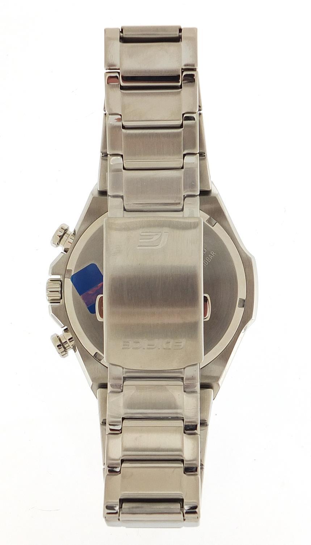 Casio Edifice, gentlemen's Scuderia Toro Rosso solar 2018 limited edition wristwatch with box, - Image 4 of 6
