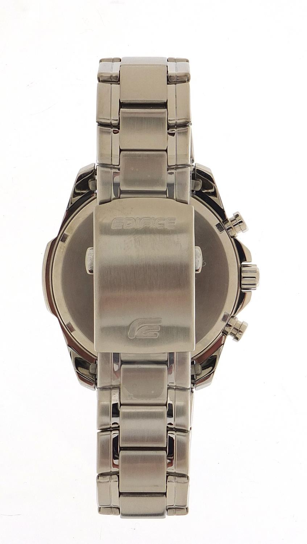 Casio Edifice, gentlemen's limited edition Scuderia Toro Rosso wristwatch with box, certificate - Image 5 of 7