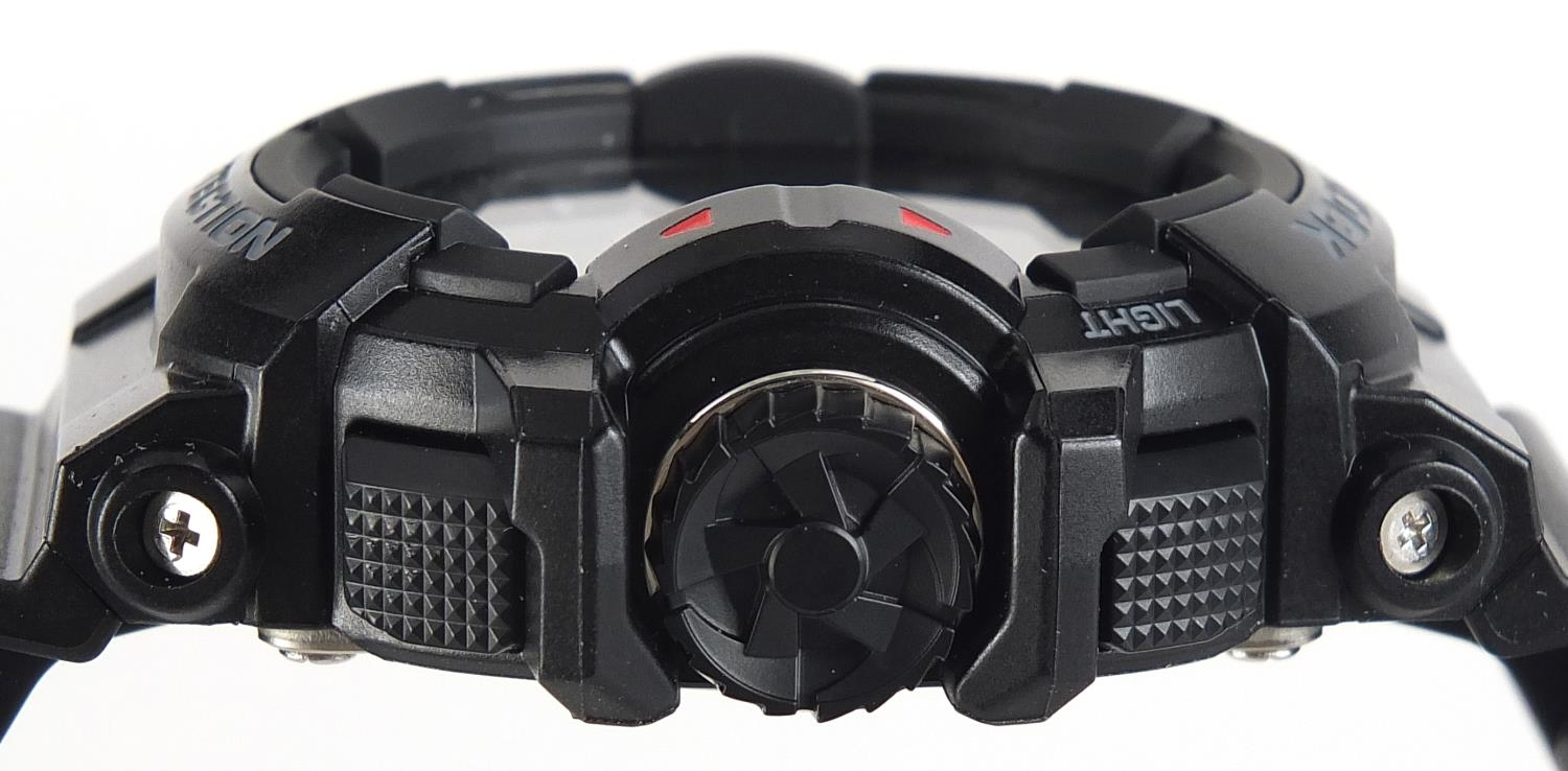 Casio, gentlemen's G-Shock wristwatch with box and paperwork, model GBA-400 :For Further Condition - Image 3 of 8