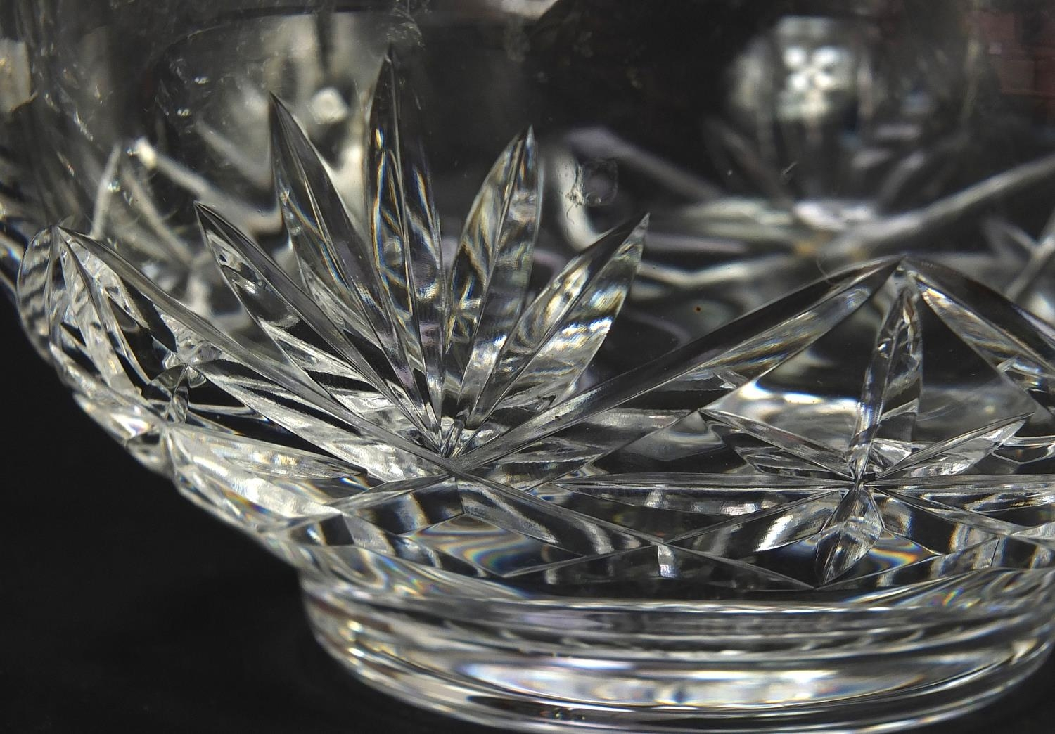 Cut glassware and crystal including pair of Waterford casters, Stuart and Royal Doulton, the largest - Image 5 of 8