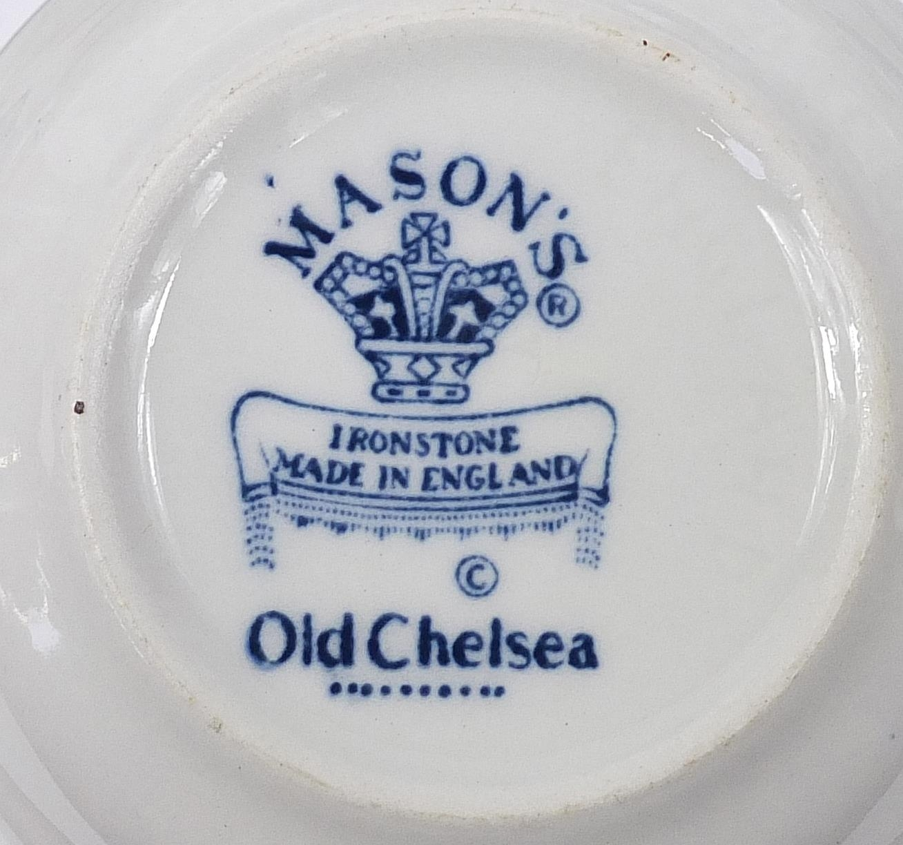 Collection of Furnivals & Masons Old Chelsea dinner and teaware including teapot and stand, cups - Image 5 of 5