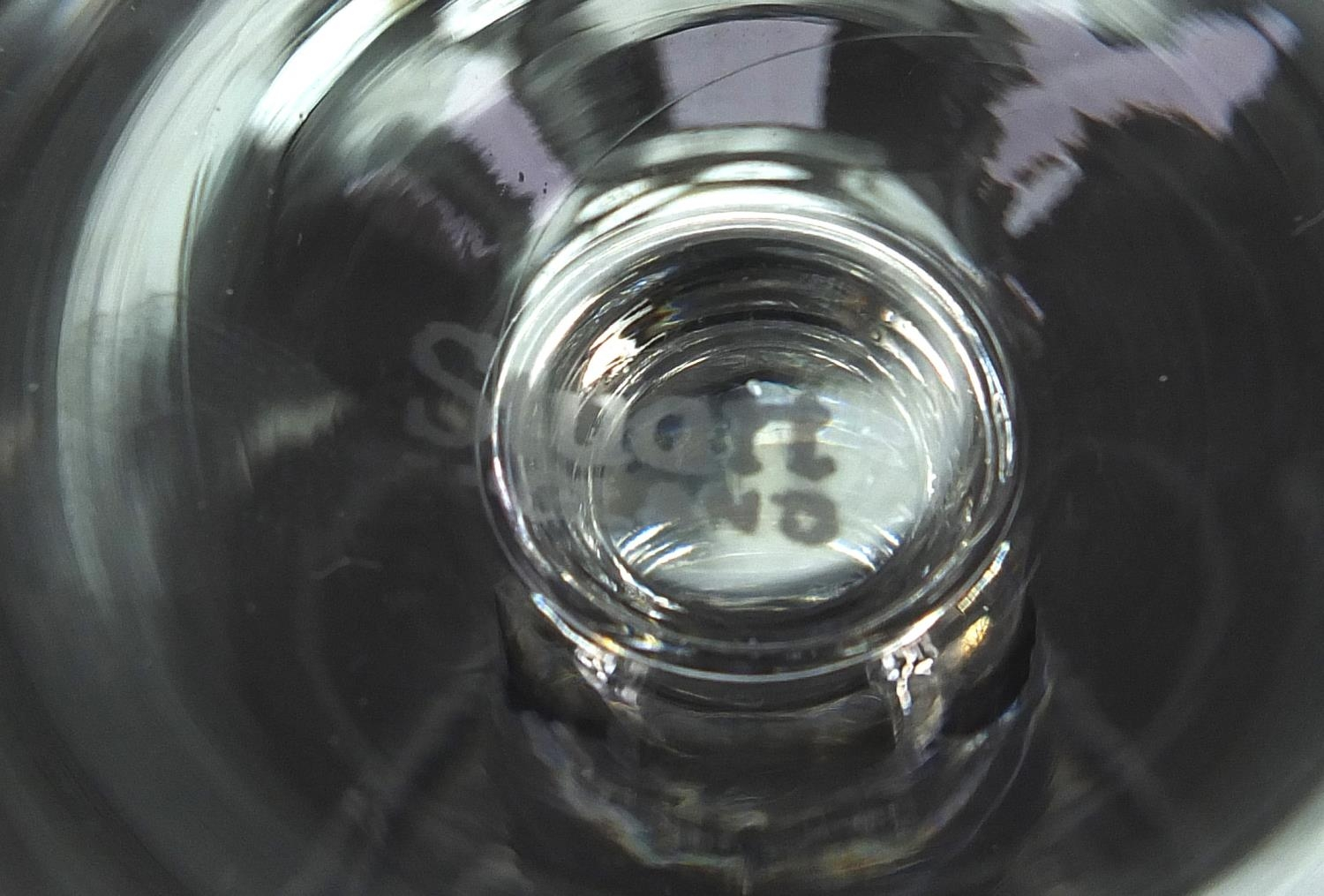 Cut glassware and crystal including pair of Waterford casters, Stuart and Royal Doulton, the largest - Image 8 of 8