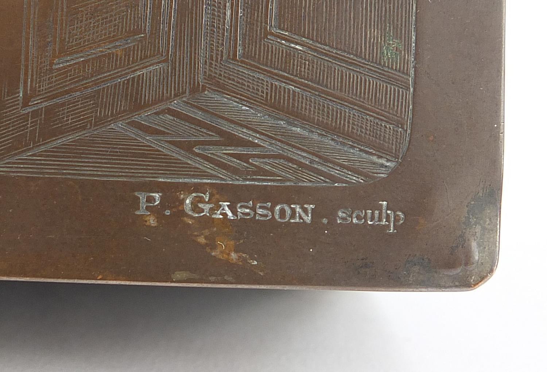 WMF silver plated casket titled Le Baiser a la Derdbee, 5.5cm H x 13.5cm W x 9cm D : For Further - Image 7 of 13