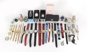 Ladies and gentlemen's wristwatches including Nike and Seiko : For Further Condition Reports