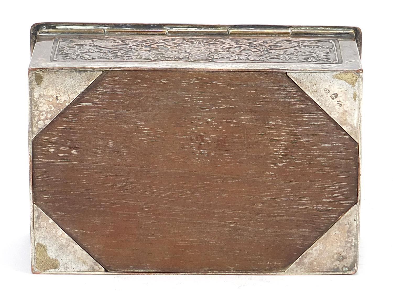 WMF silver plated casket titled Le Baiser a la Derdbee, 5.5cm H x 13.5cm W x 9cm D : For Further - Image 12 of 13