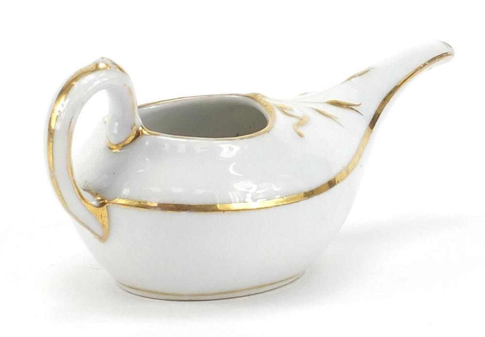 19th century ceramics including a Prattware Late Prince Consort pot lid and Copeland Spode blue - Image 2 of 6