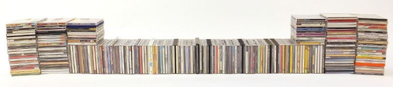 Large collection of CD's including Madonna, George Michael, Bob Dylan, Eric Clapton, Otis Redding,