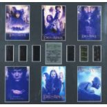 Lord of the Rings trilogy filmcell display, limited edition 583/1000, certificate of authenticity
