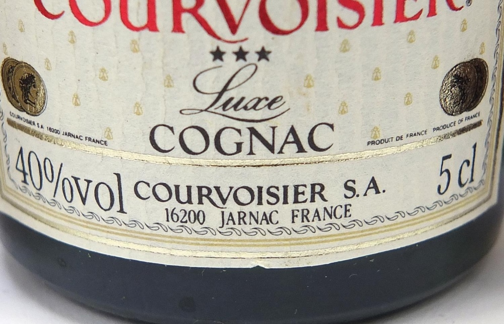 Alcohol miniatures including Martell, Bols and Courvoisier Cognac : For Further Condition Reports - Image 6 of 7