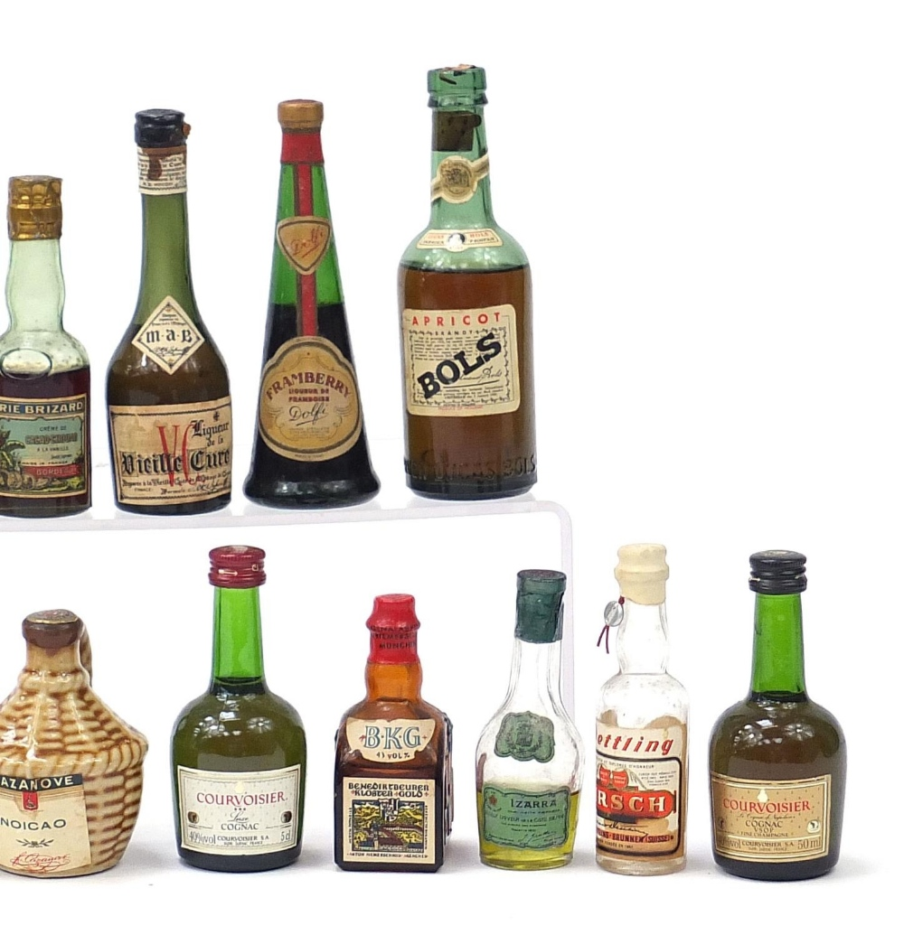 Alcohol miniatures including Martell, Bols and Courvoisier Cognac : For Further Condition Reports - Image 4 of 7