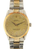 Rolex, gentlemen's Oyster Perpetual automatic wristwatch, 33.5mm in diameter : For Further Condition