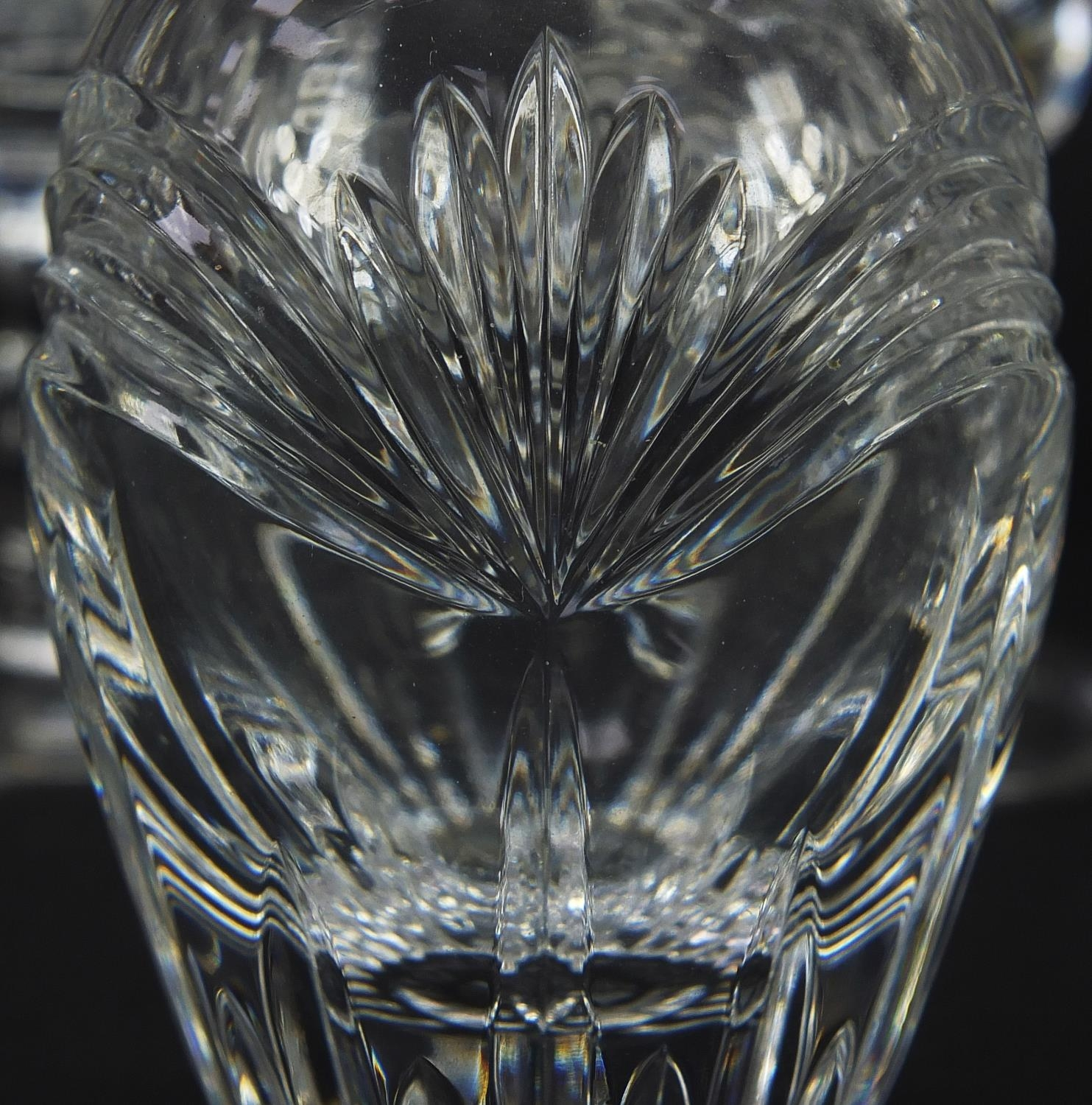 Cut glassware and crystal including pair of Waterford casters, Stuart and Royal Doulton, the largest - Image 6 of 8