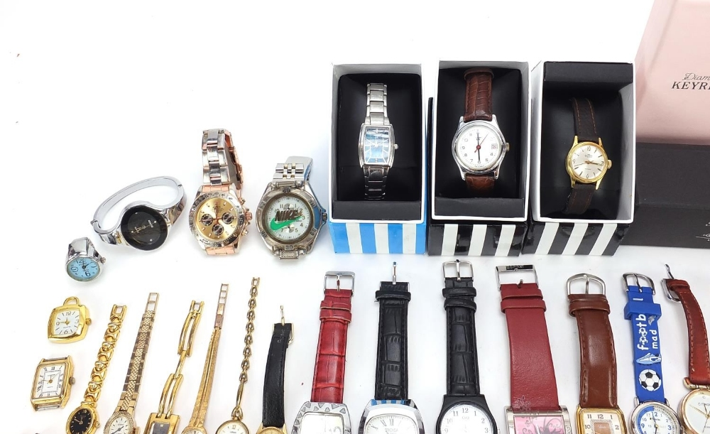 Ladies and gentlemen's wristwatches including Nike and Seiko : For Further Condition Reports - Image 2 of 5
