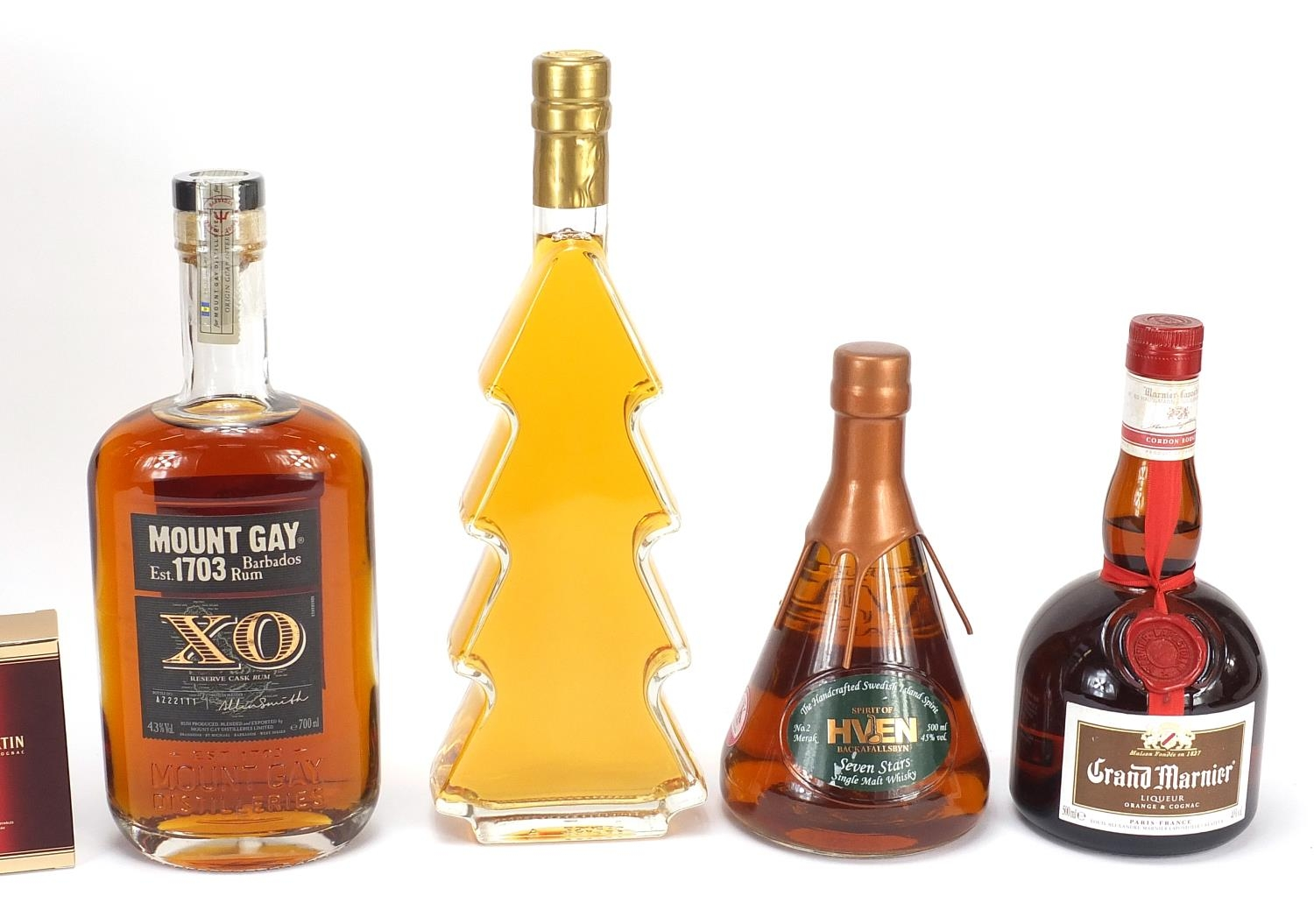Alcohol comprising nine 5cl bottles of Remy Martin XO fine Champagne cognac, Mount Gay XO Barbados - Image 3 of 3