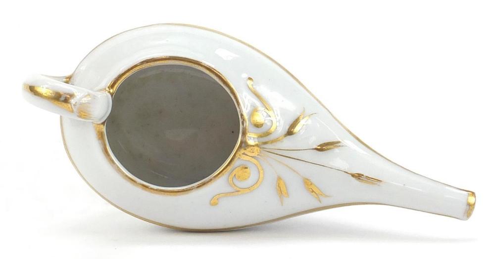 19th century ceramics including a Prattware Late Prince Consort pot lid and Copeland Spode blue - Image 3 of 6