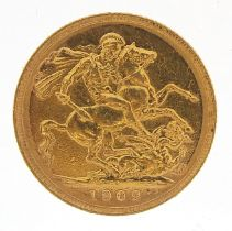 Edward VII 1902 gold sovereign, Perth mint - this lot is sold without buyer's premium