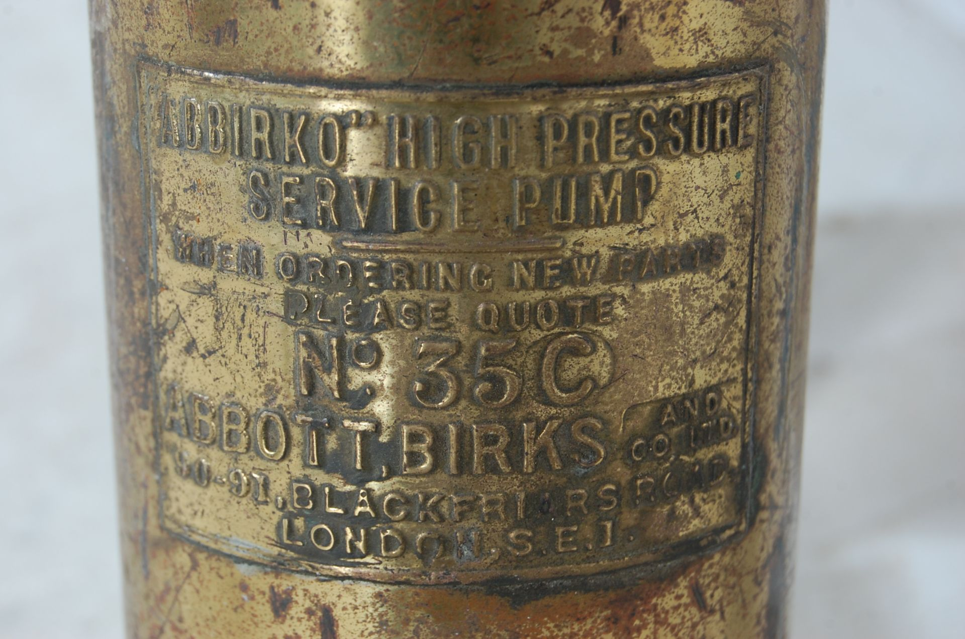 ABBIRKO PRESSURE SERVICE PUMP AND ANOTHER - Image 4 of 6