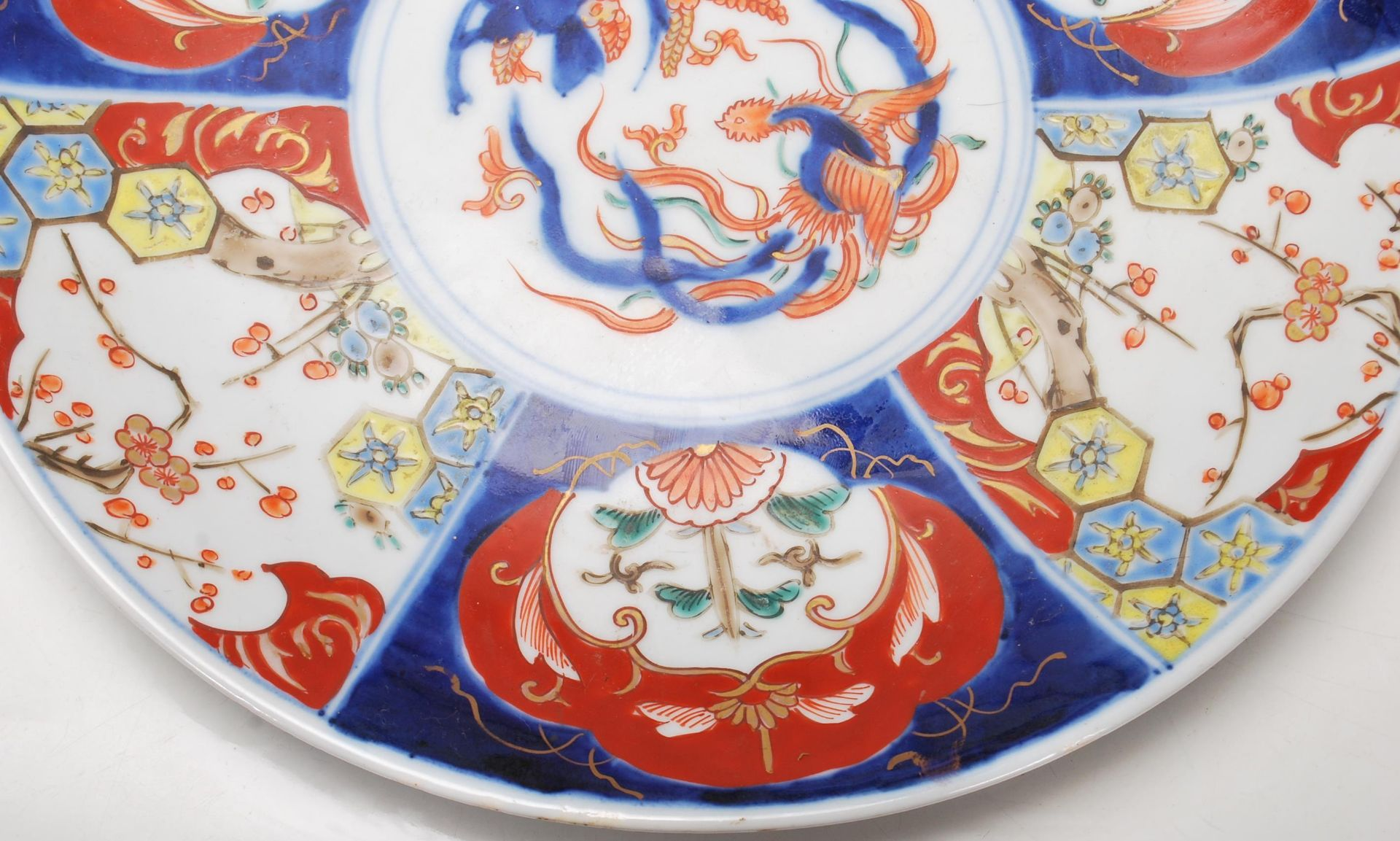 TWO 19TH CETURY 20TH CETURY CHINESE ORIENTAL CHARGERS - Image 5 of 7