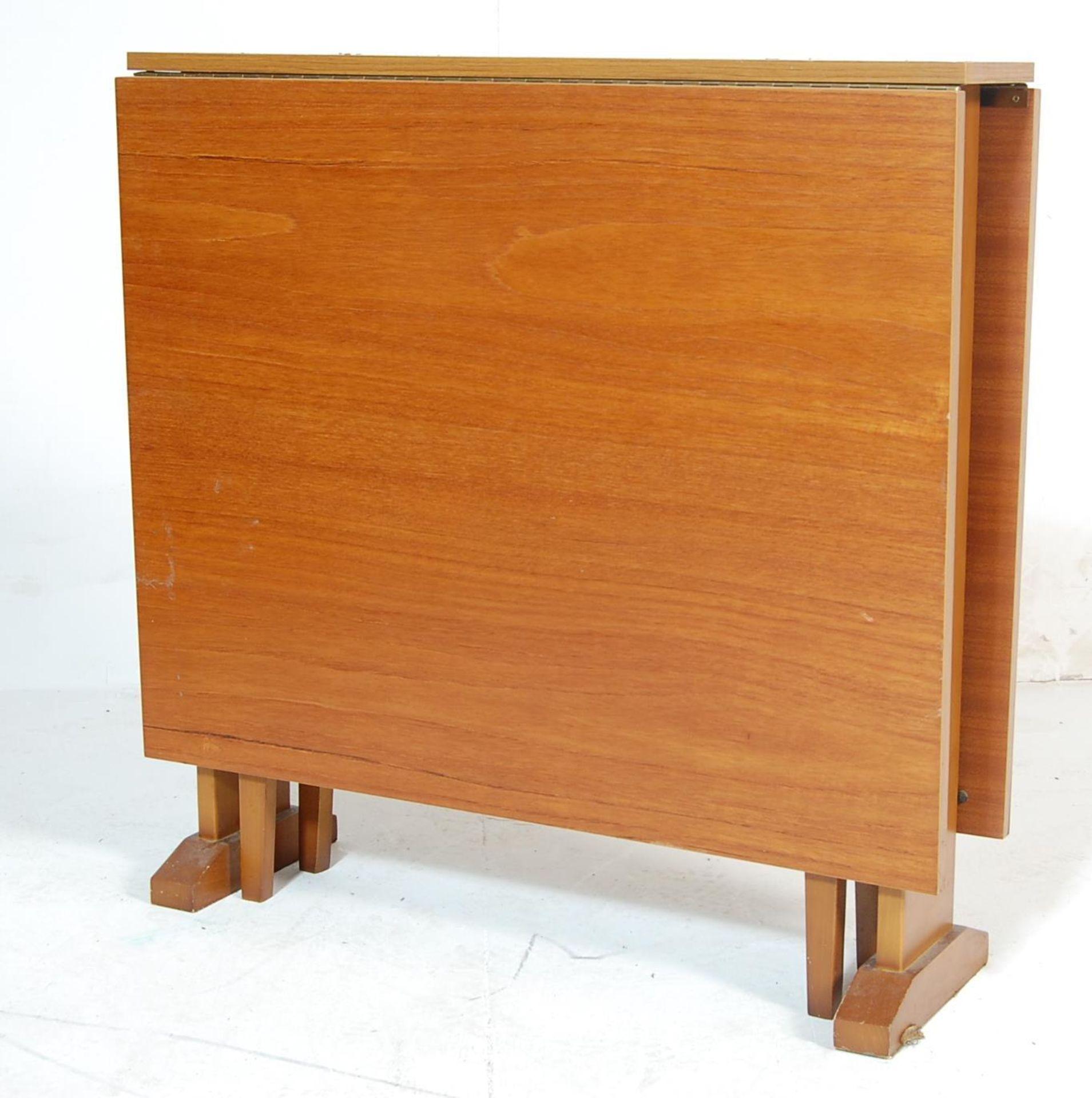 RETRO VINTAGE 1960S TEAK WOOD DINING TABLE