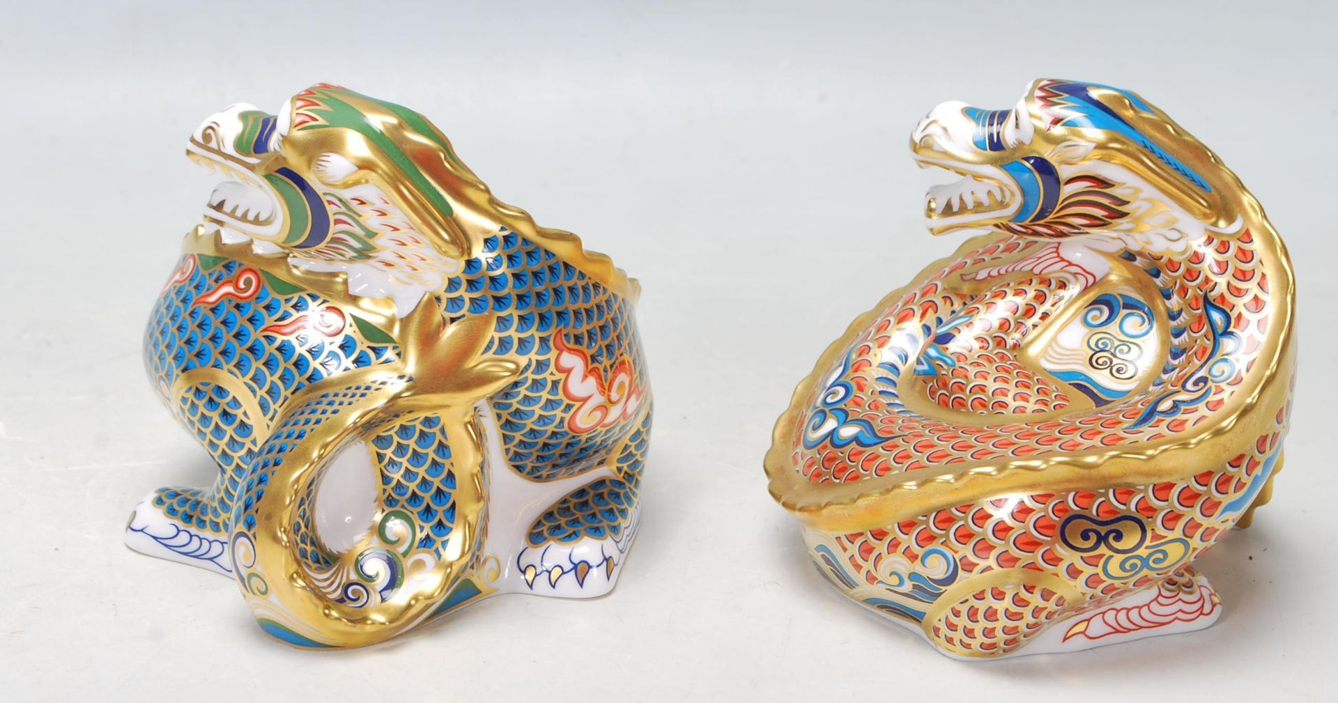 TWO ROYAL DOULTON PAPERWEIGHTS - Image 4 of 7