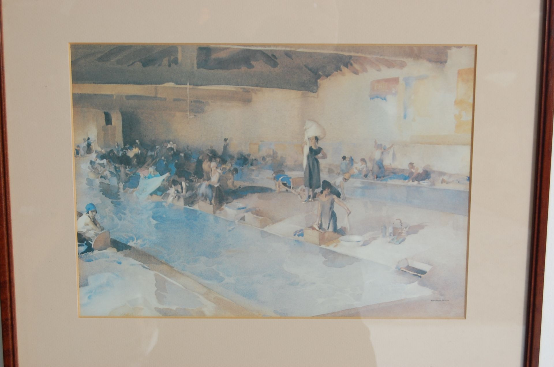 SEVEN WILLIAM RUSSELL FLINT PRINTS - Image 3 of 10