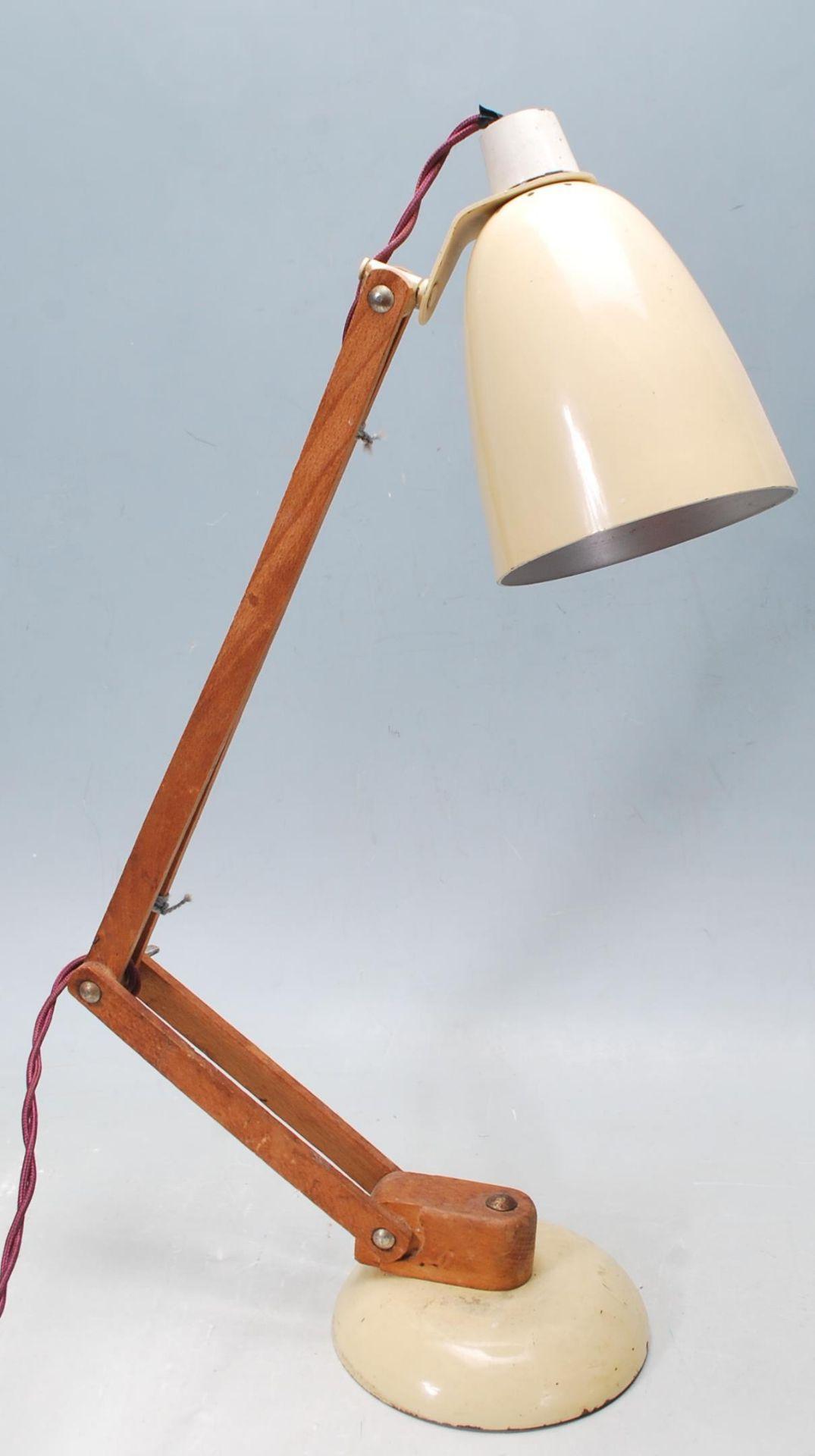 MID CENTURY TERENCE CONRAN MACLAMP DESK LAMP - Image 6 of 7