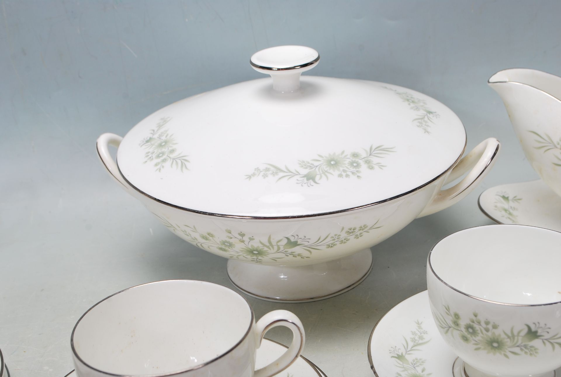 COLLECTION OF LATE 20TH CENTURY WEDGWOOD FINE BONE CHINA - Image 6 of 9