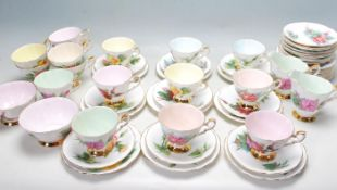 PARAGON - ROYAL STANDARD - WORLD FAMOUS ROSES TEA SET