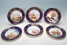 SPODE LIMITED EDITION COLLECTORS PLATES BRITISH MARITIME