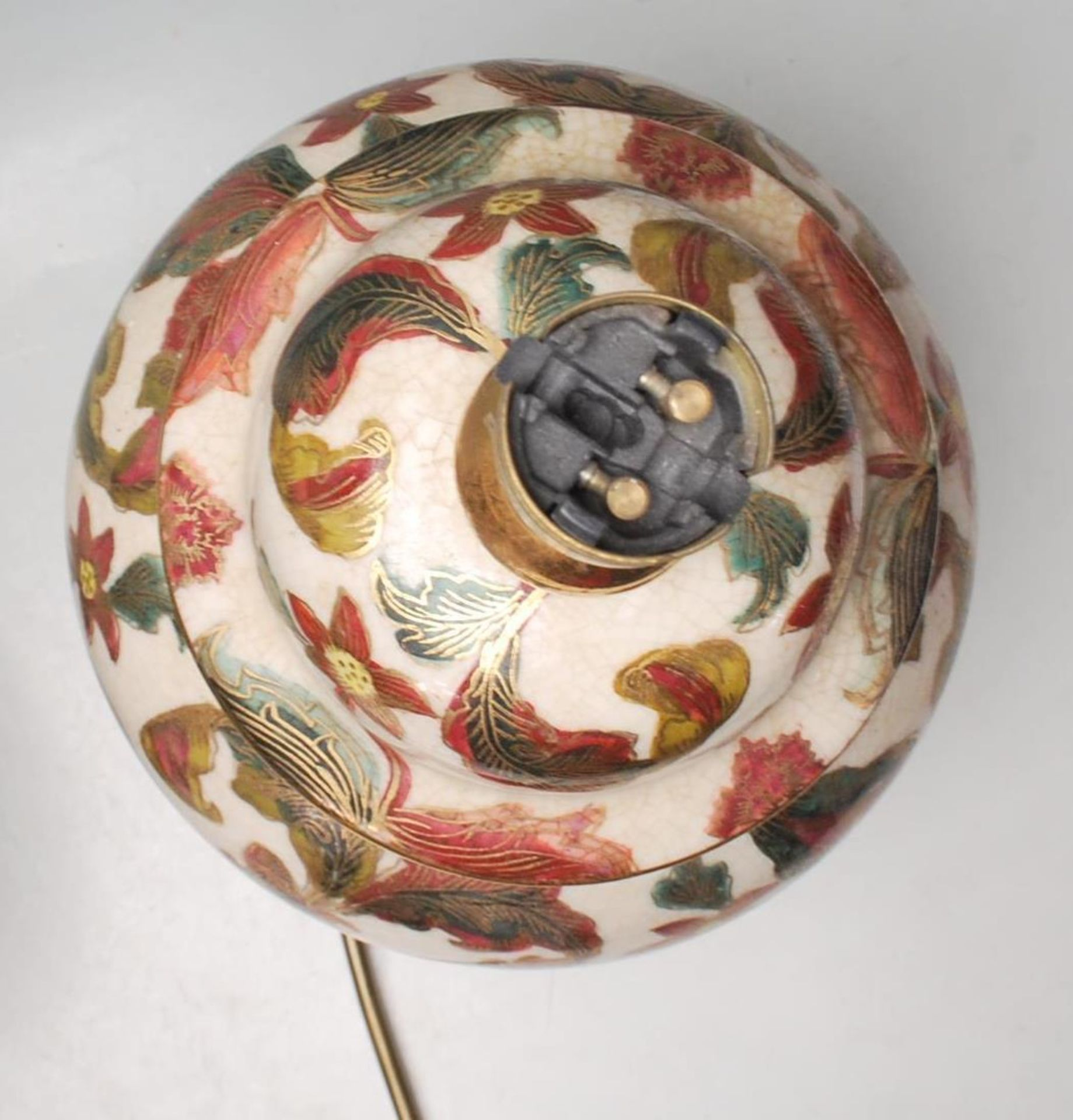 COLLECTION OF KUTANI / FAMILLE ROSE TABLE LAMPS - Image 6 of 7