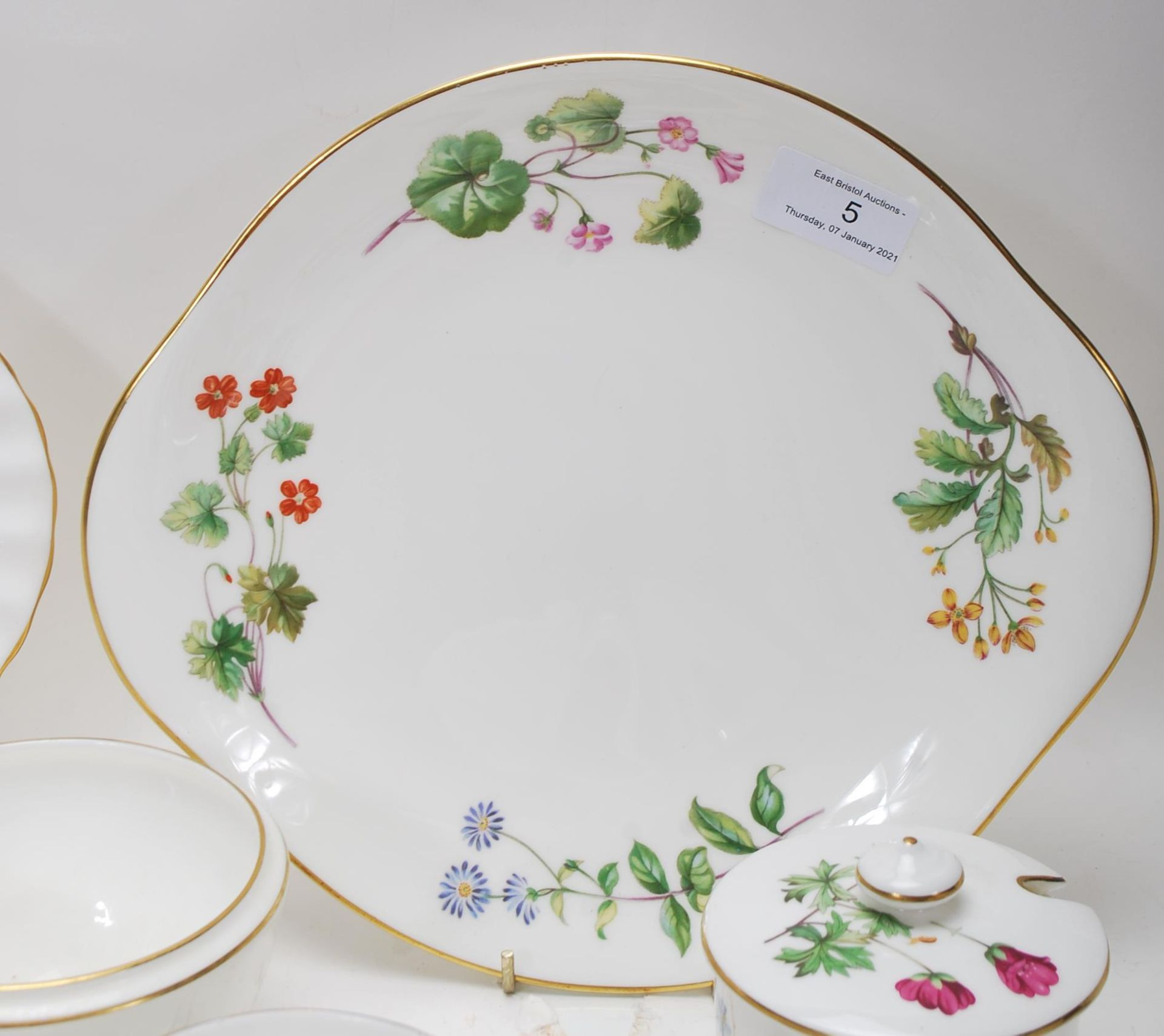 MINTON MEADOW PATTERN BONE CHINA TEA SERVICE - Image 10 of 12