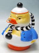 1930'S ART DECO SHELLEY DUCK TEAPOT BY MABEL LUCIE ATTWELL