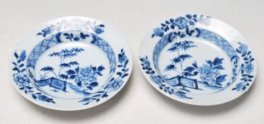 TWO ANTIQUE EARLY 20TH CENTURY CHINESE BOWLS