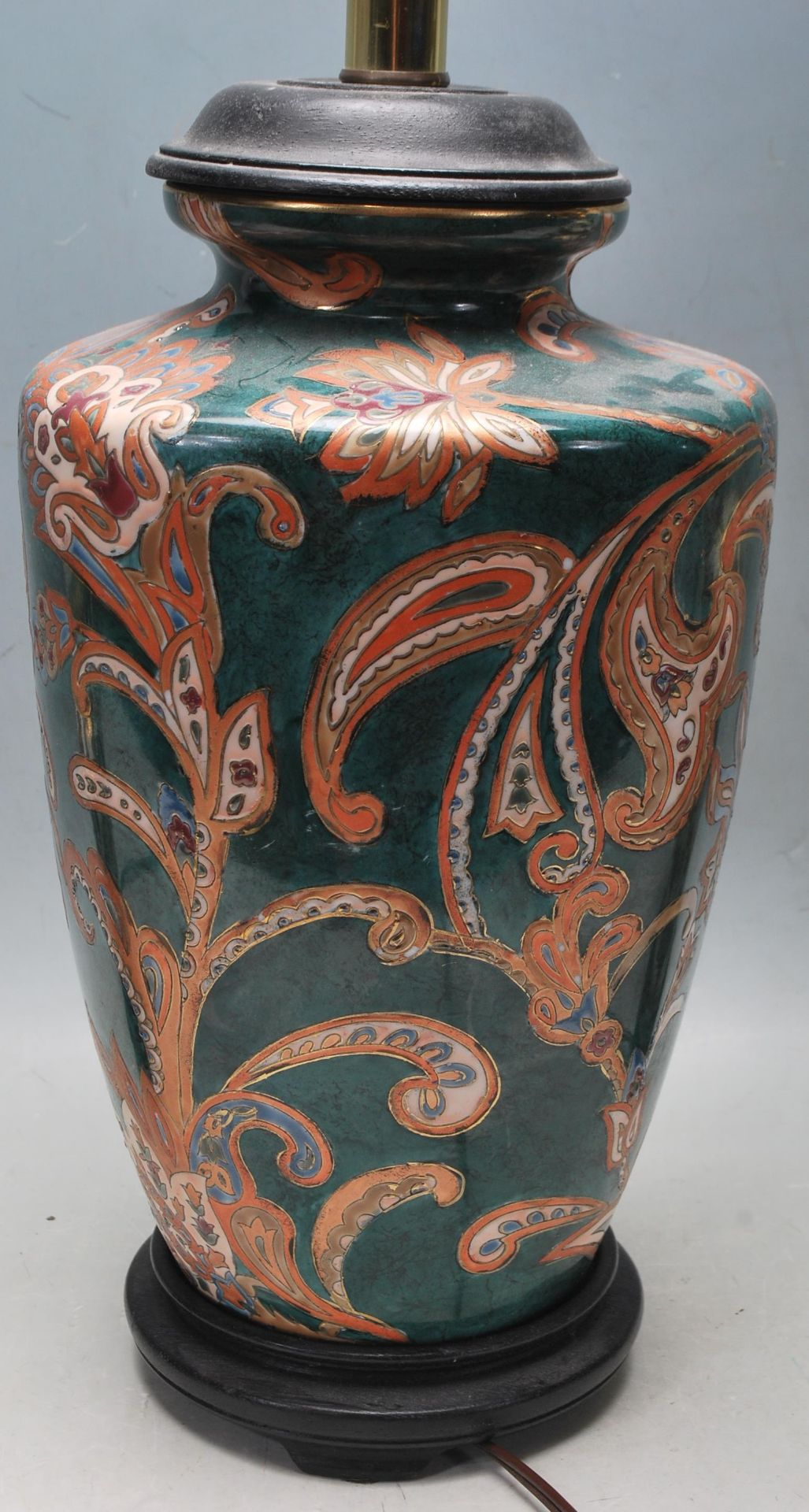 COLLECTION OF KUTANI / FAMILLE ROSE TABLE LAMPS - Image 3 of 7