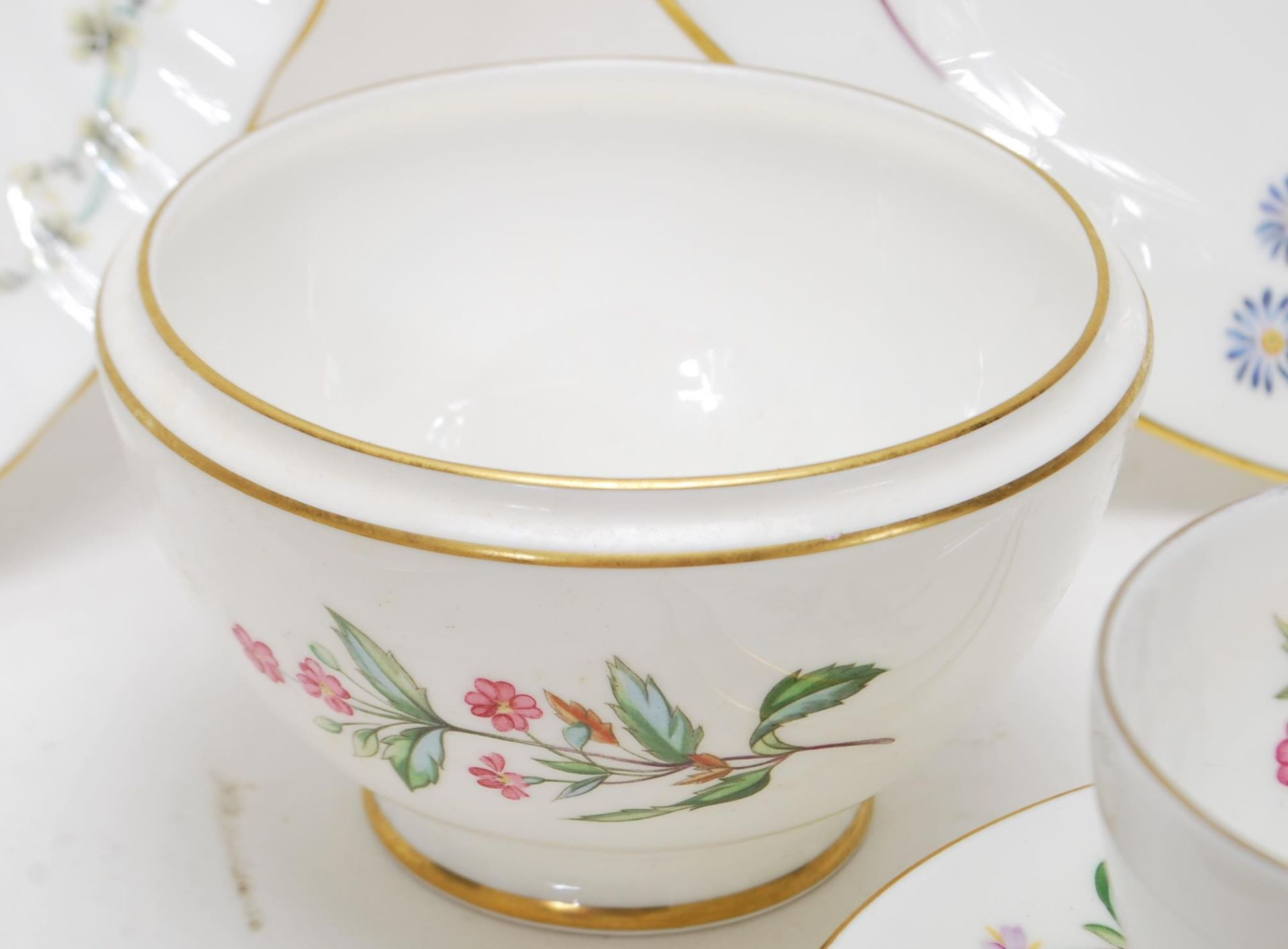 MINTON MEADOW PATTERN BONE CHINA TEA SERVICE - Image 8 of 12