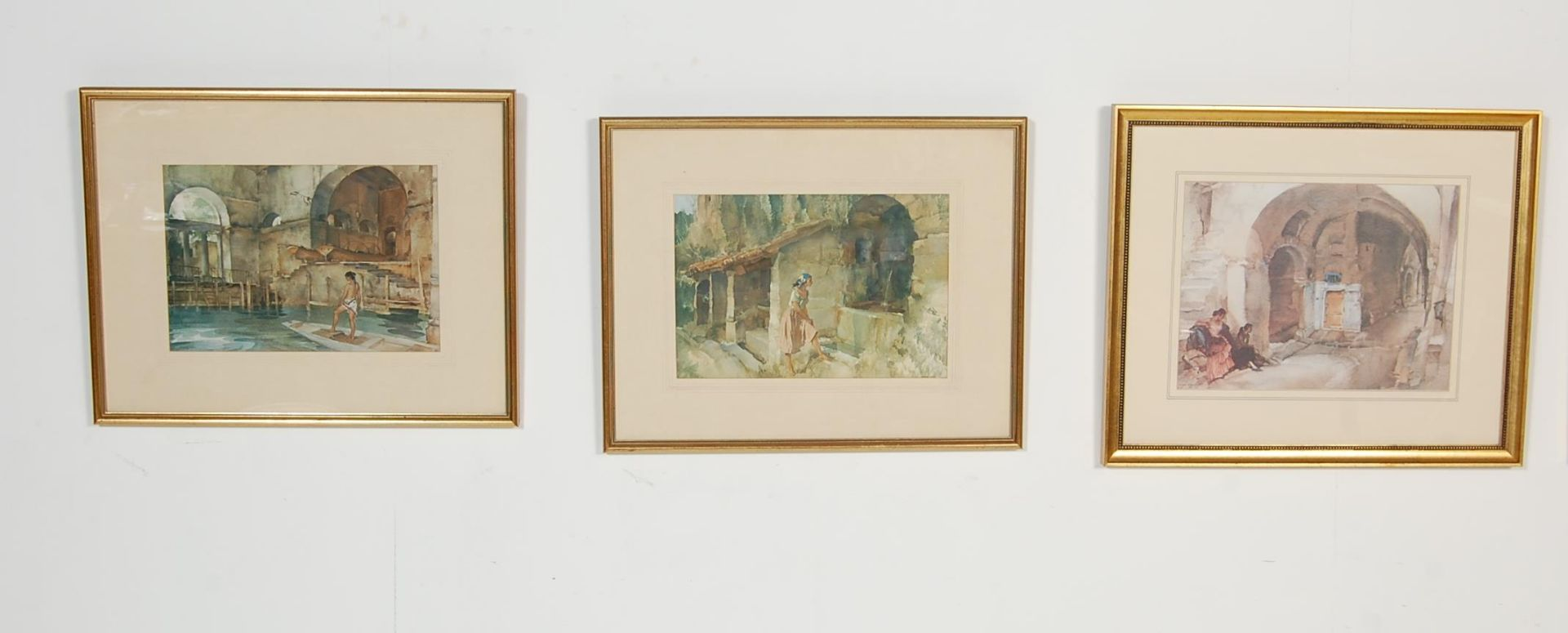 SEVEN WILLIAM RUSSELL FLINT PRINTS - Image 2 of 10