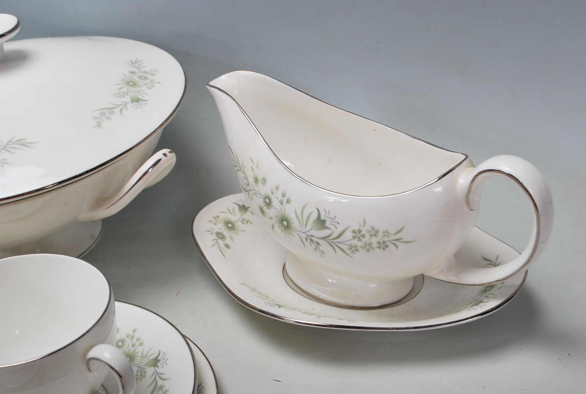COLLECTION OF LATE 20TH CENTURY WEDGWOOD FINE BONE CHINA - Image 5 of 9